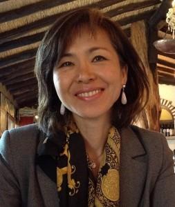 Mutsuko, eine unserer Seminarleiterinnen.